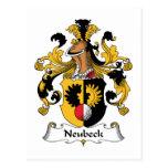 Escudo de la familia de Neubeck Postal