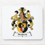 Escudo de la familia de Neubeck Alfombrilla De Ratón