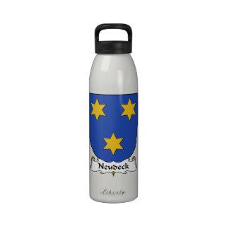 Escudo de la familia de Neudeck Botella De Agua Reutilizable