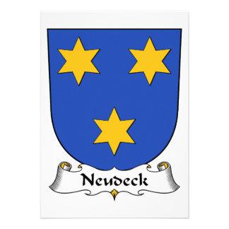 Escudo de la familia de Neudeck Anuncio