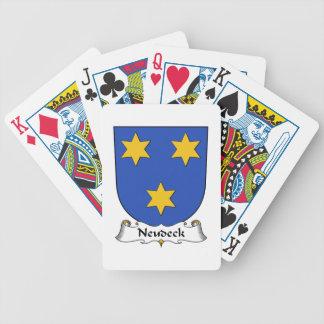 Escudo de la familia de Neudeck Baraja De Cartas
