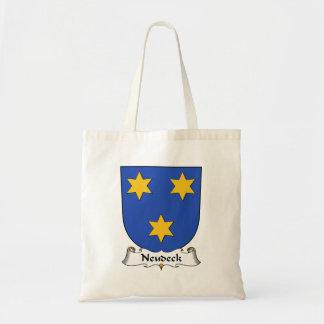 Escudo de la familia de Neudeck Bolsas De Mano