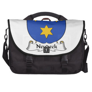 Escudo de la familia de Neudeck Bolsas De Ordenador