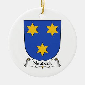 Escudo de la familia de Neudeck Ornamentos De Reyes