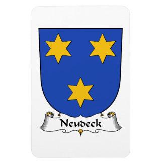 Escudo de la familia de Neudeck Iman Rectangular