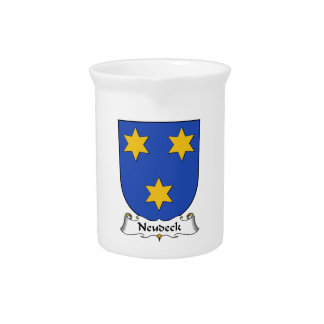 Escudo de la familia de Neudeck Jarrones