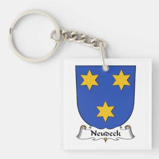 Escudo de la familia de Neudeck Llaveros