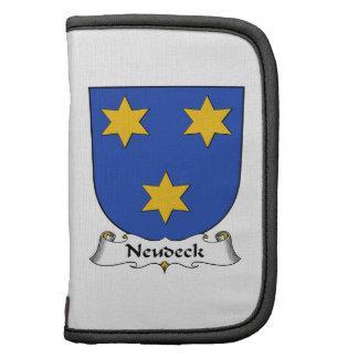 Escudo de la familia de Neudeck Organizadores