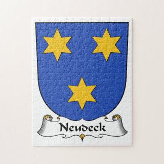 Escudo de la familia de Neudeck Rompecabezas Con Fotos