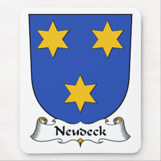 Escudo de la familia de Neudeck Tapetes De Ratón