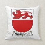 Escudo de la familia de Neuentuffen Cojines