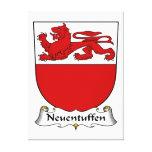 Escudo de la familia de Neuentuffen Impresiones De Lienzo
