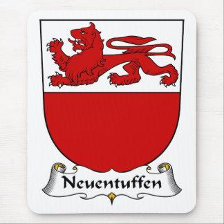 Escudo de la familia de Neuentuffen Alfombrillas De Ratones