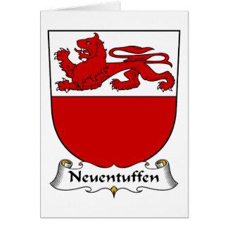 Escudo de la familia de Neuentuffen Felicitacion
