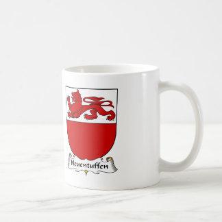 Escudo de la familia de Neuentuffen Taza De Café