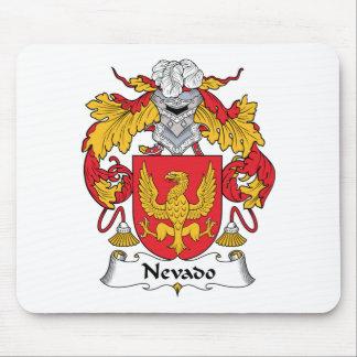 Escudo de la familia de Nevado Alfombrilla De Ratones