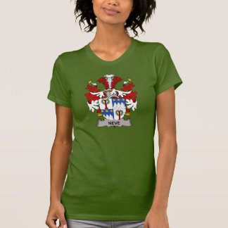 Escudo de la familia de Neve Camiseta