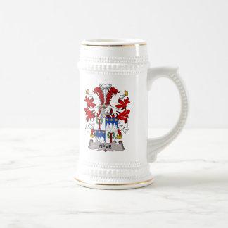 Escudo de la familia de Neve Tazas De Café