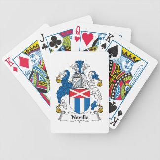 Escudo de la familia de Neville Baraja De Cartas