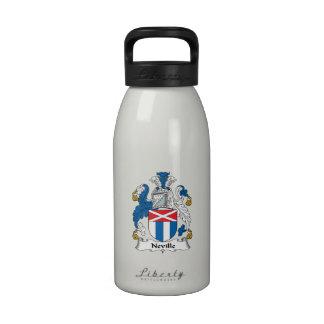 Escudo de la familia de Neville Botella De Agua