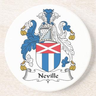 Escudo de la familia de Neville Posavasos Manualidades