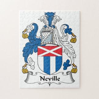 Escudo de la familia de Neville Rompecabeza Con Fotos