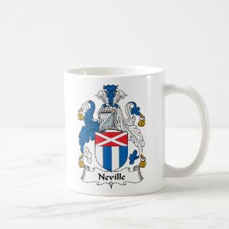Escudo de la familia de Neville Tazas