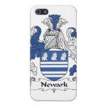Escudo de la familia de Newark iPhone 5 Carcasa