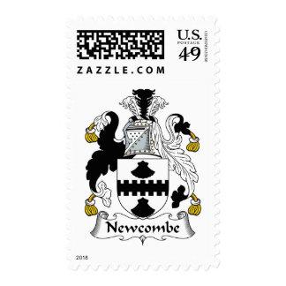 Escudo de la familia de Newcombe Franqueo
