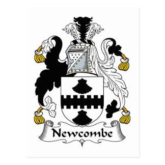 Escudo de la familia de Newcombe Postal