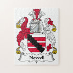 Escudo de la familia de Newell Puzzle Con Fotos