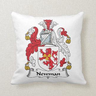 Escudo de la familia de Newman Cojin