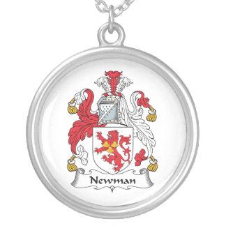 Escudo de la familia de Newman Colgante