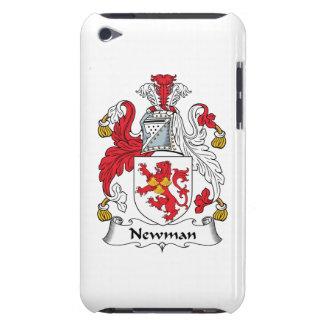 Escudo de la familia de Newman iPod Case-Mate Fundas