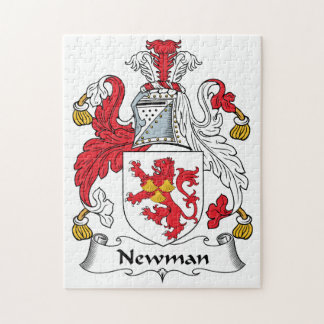 Escudo de la familia de Newman Rompecabeza Con Fotos