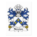 Escudo de la familia de Newton Postal