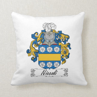 Escudo de la familia de Niccoli Cojin