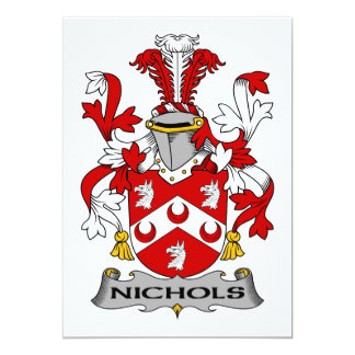 Escudo de la familia de Nichols