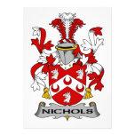 Escudo de la familia de Nichols Comunicados
