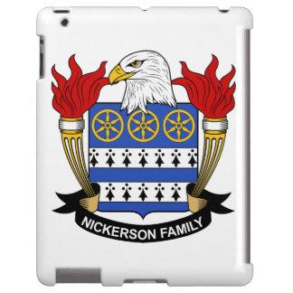 Escudo de la familia de Nickerson Funda Para iPad