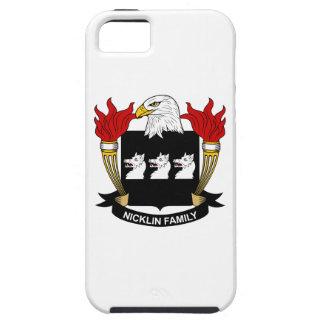 Escudo de la familia de Nicklin iPhone 5 Case-Mate Coberturas