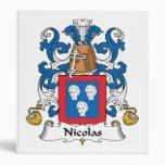 Escudo de la familia de Nicolás