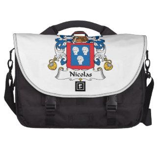 Escudo de la familia de Nicolás Bolsas De Ordenador