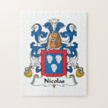 Escudo de la familia de Nicolás Puzzle