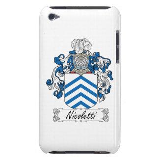 Escudo de la familia de Nicoletti Case-Mate iPod Touch Cobertura