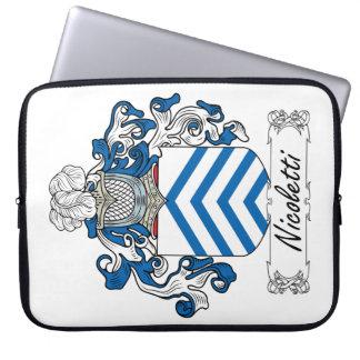 Escudo de la familia de Nicoletti Funda Ordendadores