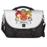 Escudo de la familia de Nimmo Bolsas De Portátil