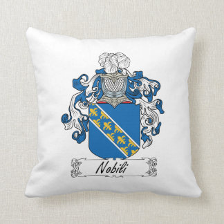 Escudo de la familia de Nobili Cojín