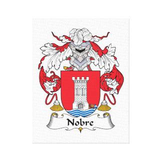 Escudo de la familia de Nobre Lona Estirada Galerías