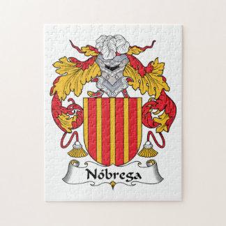 Escudo de la familia de Nobrega Puzzle